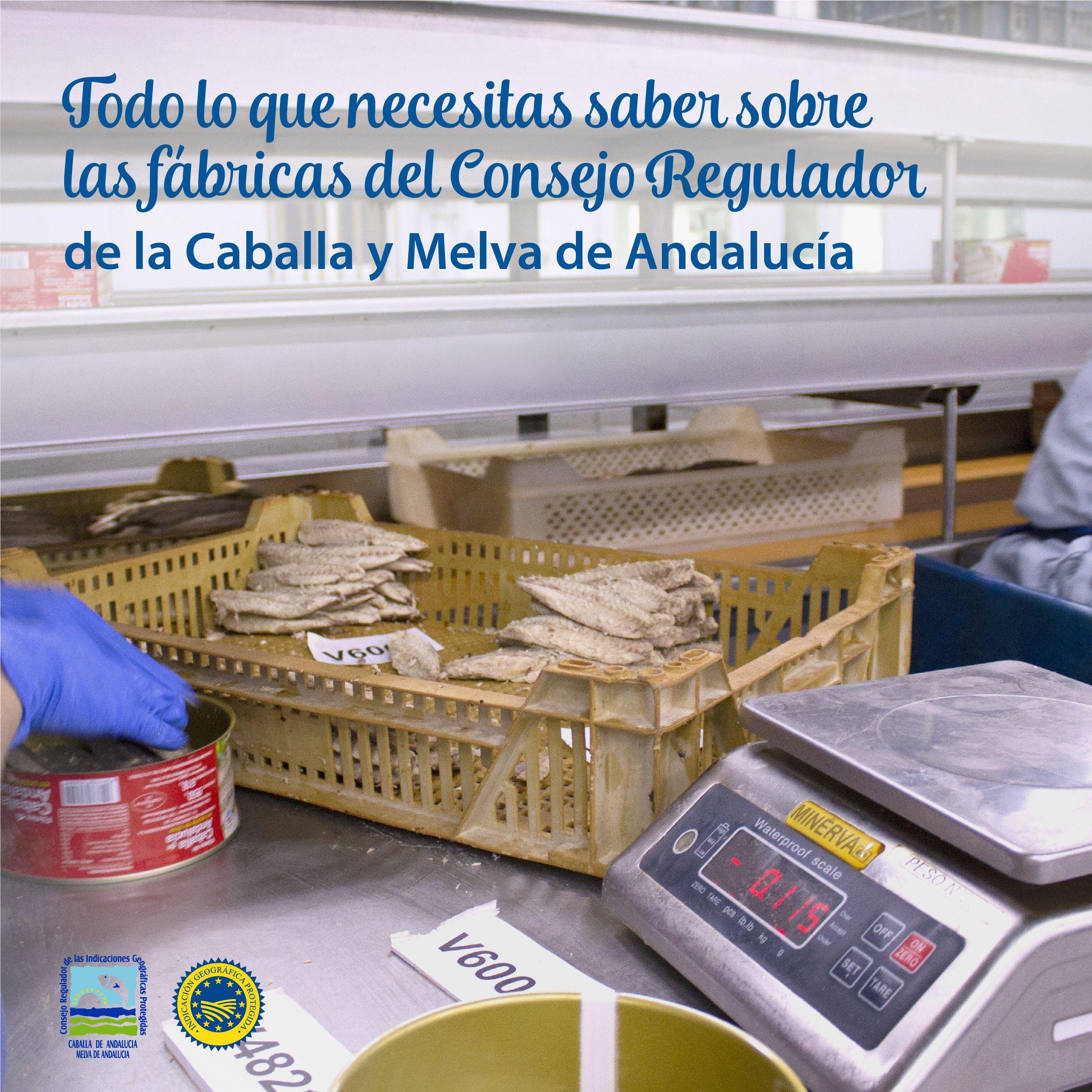 Las fábricas del Consejo Regulador Caballa de Andalucía y Melva de Andalucía