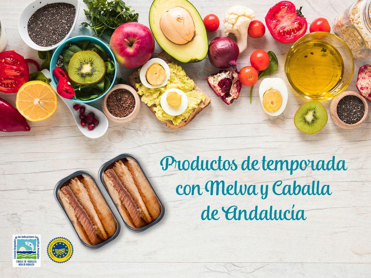 Productos de temporada para acompañar tus platos de Melva de Andalucía y Caballa de Andalucía este verano