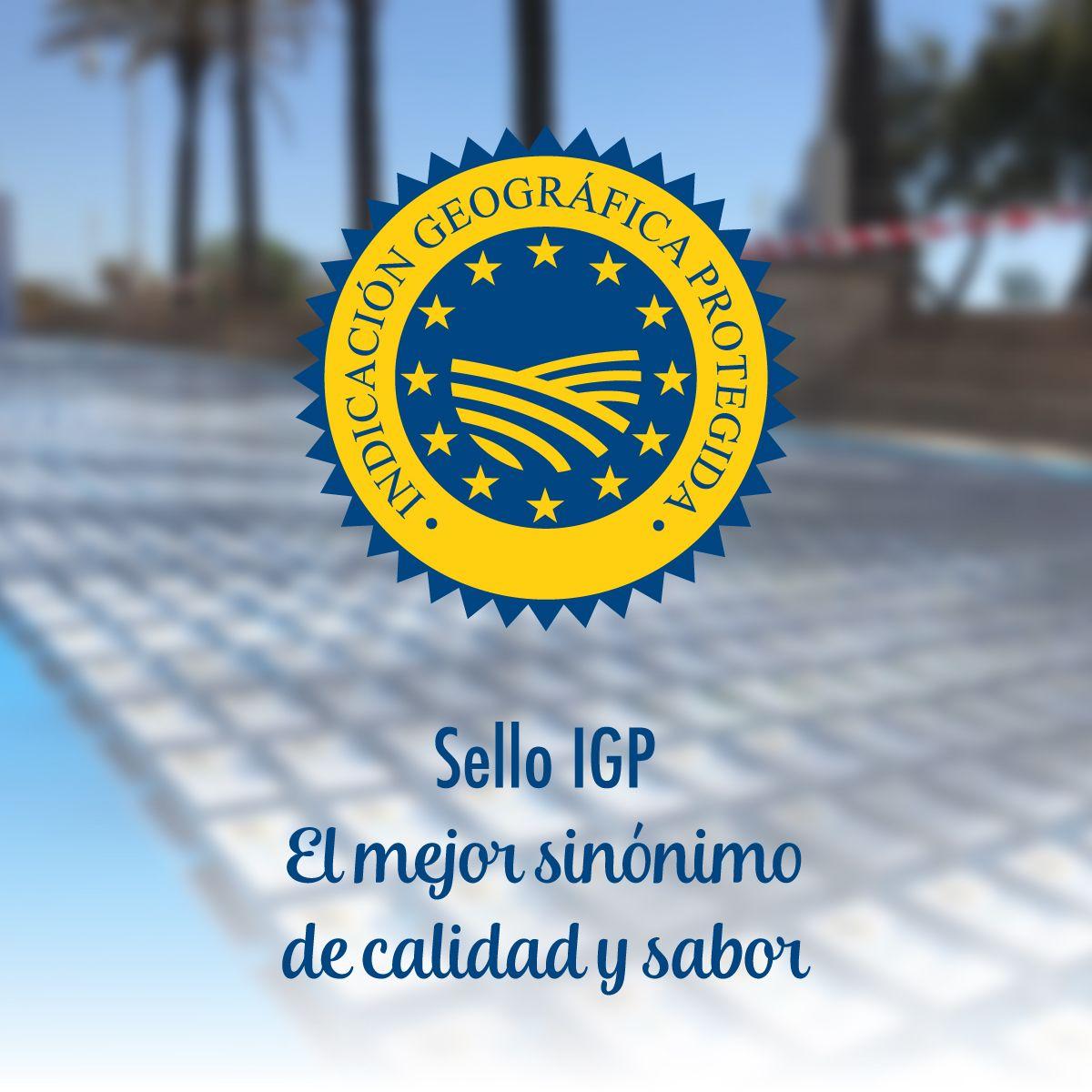 Sello IGP, Indicación Geográfica Protegida